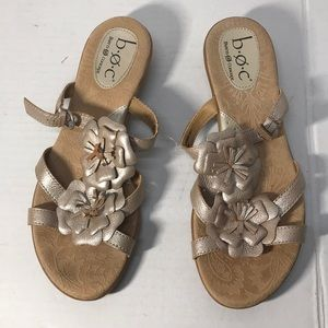 Really Cute Leather Born Sandals size 9